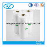 Мешок HDPE прозрачный напечатанный пластичный плоский для еды