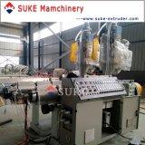 Gewölbter Rohr-Strangpresßling des PlastikPE/PVC, der Maschine herstellt