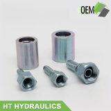 Embouts de durites hydrauliques d'acier du carbone de constructeur de Ht