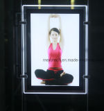 Magnetic d'attaccatura Crystal Slim LED Light Box per Advertizing