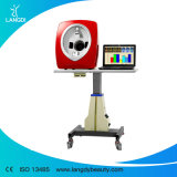 Máquina facial da análise da pele do analisador da pele com software inglês e espanhol da versão