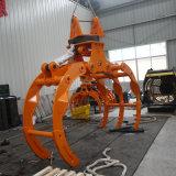 Piezas de maquinaria de la excavadora Excavadora de rotación de la madera Grab