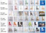 Cadeira branca de Napoleon do banquete do casamento da madeira e da resina