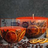 De met de hand gemaakte Kunstmatige Kaarsen van de Vlam