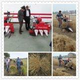 Cahier de Reaper de blé de riz non-décortiqué empaquetant la machine de découpage de paddy de machine de découpage