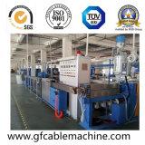 Linha de produção plástica da máquina da extrusão de cabo do fio da bainha de PVC/LSZH