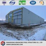Entrepôt isolé de structure métallique avec le bâti de Peb