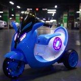 Passeio do bebê da potência de bateria na motocicleta plástica para miúdos para a venda