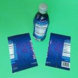 La gaine thermorétractable étiquette de bouteille d'eau