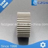 Attrezzo di dente cilindrico personalizzato dell'attrezzo di trasmissione di buona qualità per i motori di veicolo e l'automobile Straters