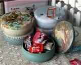 Cadre chaud de bidon de faveur de mariage de qualité de vente, bonbons cadre, boîte à sucrerie