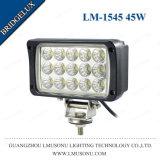 Quadratisches Arbeits-Licht des Automobil-LED schwarze 6000K LED Arbeits-Lampen 6 Zoll-45W 6 ''