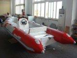 Nervurer le bateau de pêche gonflable 5.2m avec l'approbation de la CE (NERVURE 520C-2)