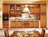 Деревянные кухонные шкаф (SW01)