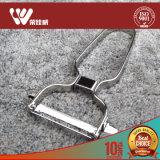 台所道具耐久のフルーツの/Vegetableのツールの金属のステンレス鋼ピーラー