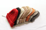 方法暖かい普及したかなり優雅な擬似毛皮POM POMの帽子