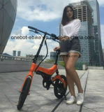 Bicis plegables eléctricas del mecanismo impulsor de la Trasero-Rueda con la batería incorporada, bloqueada, fácil del reemplazo