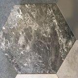 Azulejo de suelo de cerámica rústico hexagonal de seis esquinas