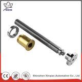 Peça fazendo à máquina de giro do CNC do metal cheio do torno do aço inoxidável da inspeção