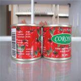 De tomatenpuree kan binnen Birx 28-30%, 22-24%
