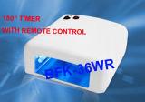 Het Gel dat van de spijker UVLamp met Ce & ROHS + Afstandsbediening (bfk-36WR) geneest