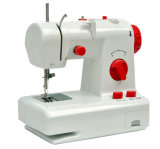 Minihaus verwendete elastische faltende Verschluss-Nähmaschine für Tuch (FHSM-208)