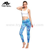 Fashion Yoga Long Leggings Femmes Sport Pantalons longs Fitness Wear Compression Gym Pants