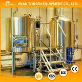 Apparatuur van de Brouwerij van het Bier van het Koper van het Ontwerp van de bar de Rode 600L