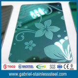 201 304 316 Höhenruder-Edelstahl-dekoratives Blatt /Plate
