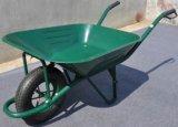 Carriola della costruzione della riga della barra di rotella del giardino Wb4011