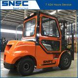 Diesel van China Snsc Vorkheftruck 3ton met de Prijs van de Cabine