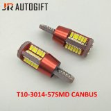 Ningún error T10 W5w 194 Canbus 3014 57 bulbos autos de SMD Clearence con Canbus