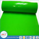 Plastique recyclable d'injection de conteneurs en papier synthétique utilisé par étiquette de moulage
