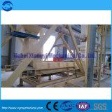 A linha de produção de pó de gesso - Fábrica de Pólvora - pó de gesso tornando