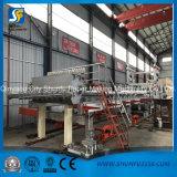 10ton máquina de la fabricación de papel de copia de la cultura A4 cadena de producción de papel entera