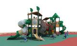 中国最新の特別な森シリーズ屋外の運動場の子供の娯楽スライド装置HD17-001A