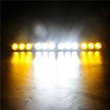 LEIDENE van de Duim van Lmusonu IP67 de In het groot 120W 22 Rechte Amber Lichte Enige Rij van de Staaf Offroad voor Voertuigen ATV/UTV/4X4