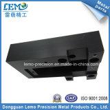 Pezzi meccanici anodizzati il nero di CNC per le strumentazioni (LM-1856)