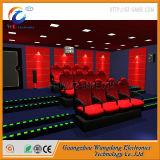 6 9 12シート5Dの動きのシートの映画館の小型5D映画館