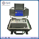 512Hz送信機/Sonde鍋の傾きのガラス繊維ケーブルの点検カメラの下水/下水管管/試錐孔の点検カメラV8-3288PT-1