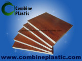 Vários Wood Grain PVC Film Lamination On PVC Foam Board