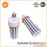 200W de alta eficiencia 30.000lm Mogul LED E40 de la base de maíz LED Lámpara de luz LED de maíz