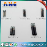 Conjunto completo de 125kHz 134.2kHz FDX-B Tag e seringa de vidro de RFID
