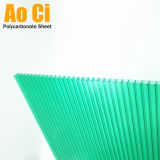 Matériau de toiture en plastique de couverture de feuille de polycarbonate de serre chaude
