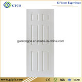puerta moldeada Panel/HDF blanca de la piel de la puerta de 3m m HDF