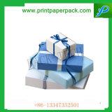 Коробка подарка рождества кондитерскаи шоколада упаковывая бумажная