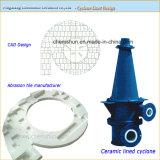 Абразивные материалы с износостойкими керамические циклона гильзы цилиндра