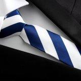 Cravate en soie tissée par couleur Sk002/006/007/008 de la mode des hommes
