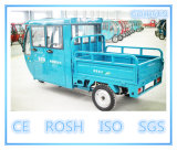 Triciclo elétrico psto solar da carga, veículo de carga de três rodas