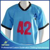 Kundenspezifische Sublimationschnelles trockenes Lacrosse-Spiel-Hemd